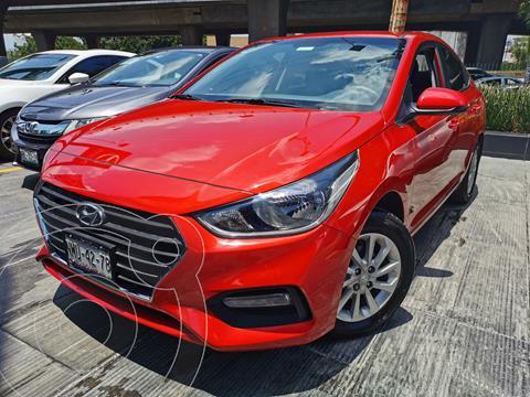Hyundai Accent MID usado (2020) color Rojo precio $245,000