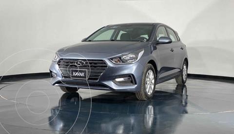 Hyundai Accent HB GL Mid usado (2020) color Gris precio $248,999