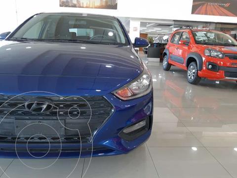Hyundai Accent HB GL Mid usado (2019) color Azul precio $220,000