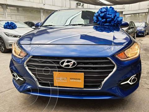 Hyundai Accent HB GL Mid usado (2019) color Azul precio $215,000