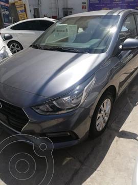 Hyundai Accent HB GL Mid usado (2020) color Gris precio $224,500