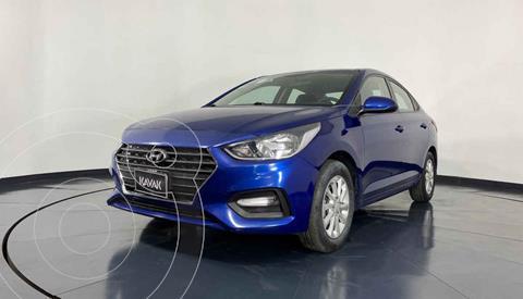 Hyundai Accent GL Mid usado (2018) color Azul precio $212,999