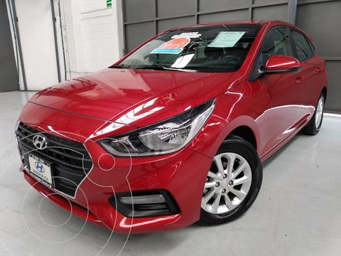 Hyundai Accent HB GL Mid usado (2019) color Rojo precio $243,000