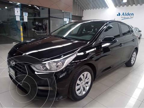 Hyundai Accent GL usado (2018) color Negro precio $210,000