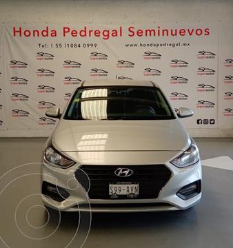 Hyundai Accent GL Mid Aut usado (2018) color Plata Dorado precio $189,000