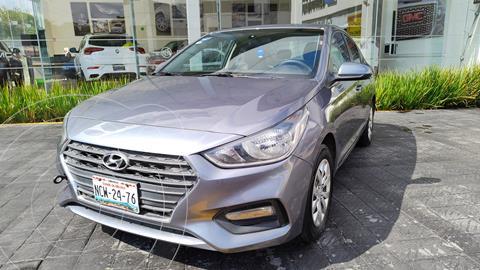 Hyundai Accent GL usado (2018) color Gris precio $193,000