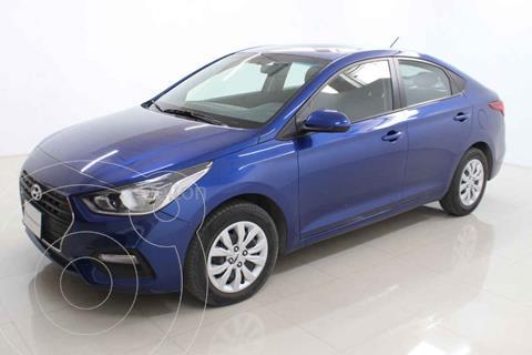 Hyundai Accent GL Aut usado (2020) color Azul precio $210,000