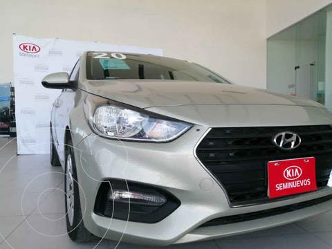 Hyundai Accent HB GL usado (2020) color Dorado precio $219,900