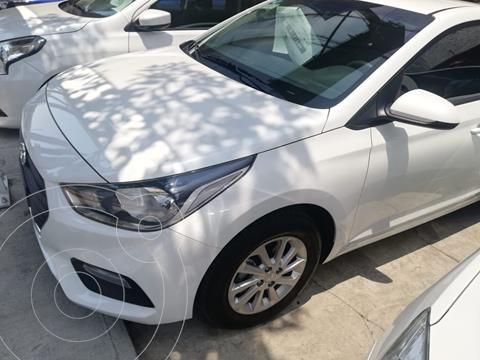 Hyundai Accent HB GL Mid Aut usado (2021) color Blanco precio $249,500