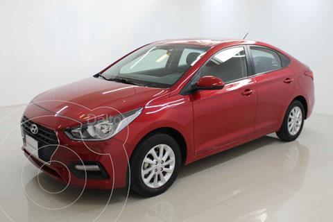 Hyundai Accent GL Mid usado (2020) color Rojo precio $225,900