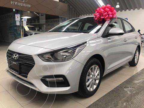 Hyundai Accent HB GL Mid usado (2021) color Plata precio $270,800