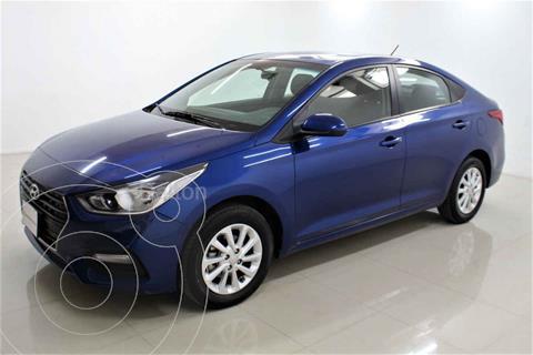 Hyundai Accent GL Mid usado (2020) color Azul precio $219,000