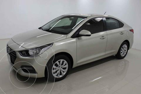 Hyundai Accent GL Aut usado (2018) color Beige precio $189,000