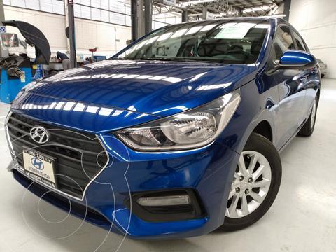 Hyundai Accent MID usado (2020) color Azul precio $234,000