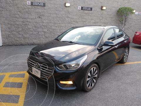 Hyundai Accent GLS Aut usado (2018) color Negro precio $218,000