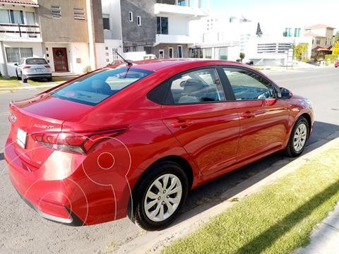 Hyundai Accent GL usado (2020) color Rojo precio $205,000