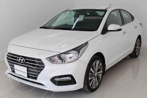 Hyundai Accent HB GLS Aut usado (2020) color Blanco precio $259,000