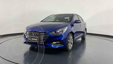 Hyundai Accent GLS Aut usado (2018) color Azul precio $249,999