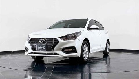 Hyundai Accent HB GL Mid usado (2018) color Blanco precio $216,999
