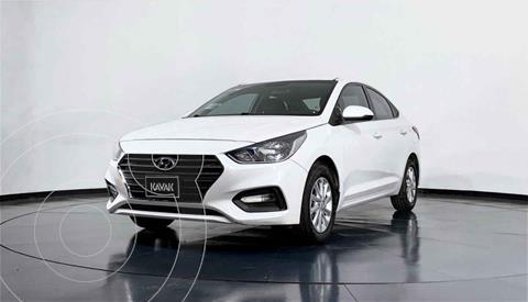 Hyundai Accent GL Mid usado (2018) color Blanco precio $229,999