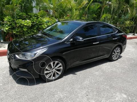 Hyundai Accent GLS Aut usado (2018) color Negro precio $230,000