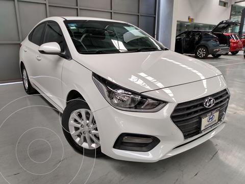 Hyundai Accent MID usado (2018) color Blanco precio $204,900