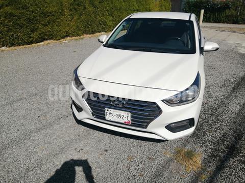Hyundai Accent Sedan GLS Aut usado (2018) color Blanco precio $208,000