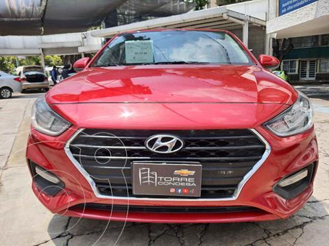 foto Hyundai Accent GL usado (2020) color Rojo precio $204,500