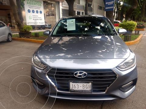 Hyundai Accent HB GL Mid Aut usado (2020) color Gris Oscuro precio $235,000