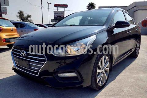 Hyundai Accent HB GLS Aut usado (2018) color Negro precio $249,000