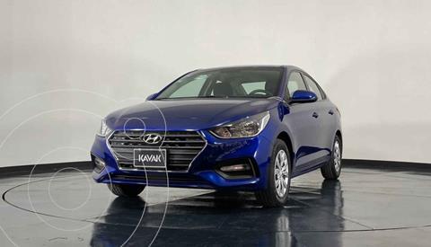 Hyundai Accent GL Aut usado (2018) color Azul precio $217,999