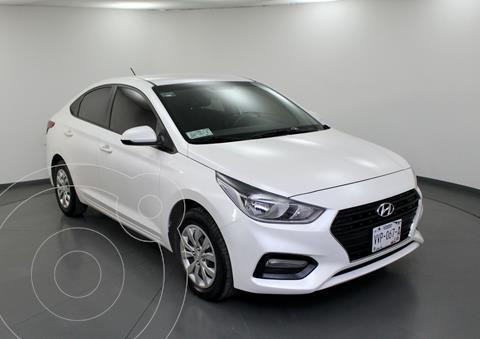 Hyundai Accent GL Mid Aut usado (2018) color Blanco precio $177,000