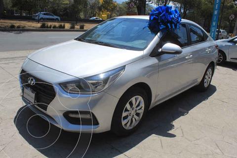 Hyundai Accent GL Aut usado (2018) color Plata precio $200,000