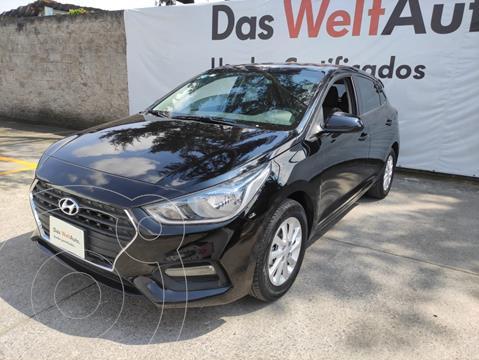 Hyundai Accent GLS 1.6L L4 120HP AT usado (2018) color Negro precio $215,000