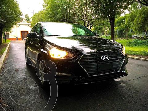 Hyundai Accent HB GL usado (2018) color Negro precio $190,000