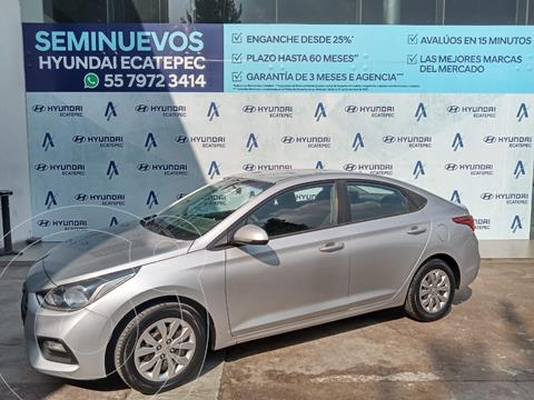 Hyundai Accent HB GL Mid Aut usado (2018) color Plata Dorado precio $192,000