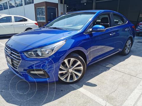 Hyundai Accent GLS Aut usado (2018) color Azul precio $240,000