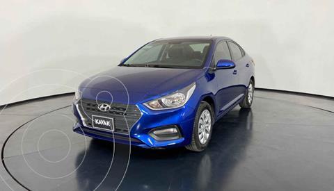 Hyundai Accent GL Aut usado (2018) color Azul precio $219,999