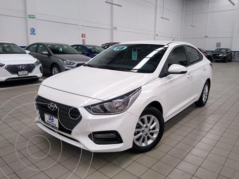 Hyundai Accent MID usado (2018) color Blanco precio $195,000