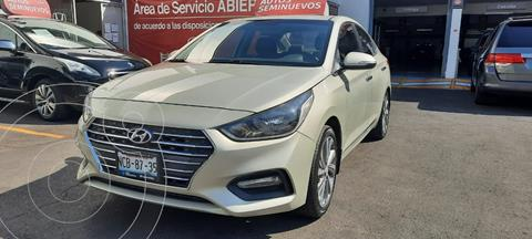 Hyundai Accent GLS Aut usado (2018) color Celeste precio $240,000