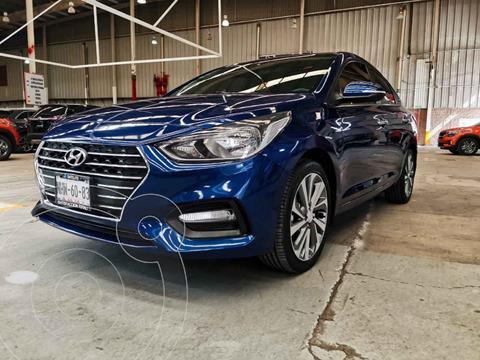 Hyundai Accent Sedan GLS Aut usado (2019) color Azul precio $265,000