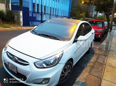 Hyundai Accent 1.4L  K6 usado (2016) color Blanco precio $30,000