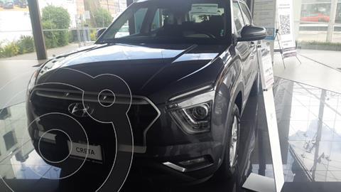 Hyundai Creta GLS IVT usado (2022) color Azul financiado en mensualidades(enganche $114,060 mensualidades desde $6,440)