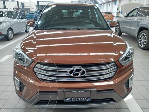 Hyundai Creta GLS Premium usado (2018) color Cafe precio $257,999