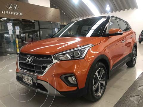 Hyundai Creta Limited Aut usado (2019) color Naranja precio $315,000