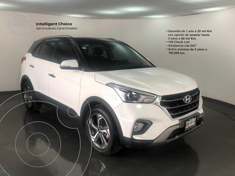 Hyundai Creta Limited usado (2020) color Blanco precio $370,000