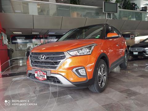 Hyundai Creta Limited usado (2019) color Naranja precio $359,000