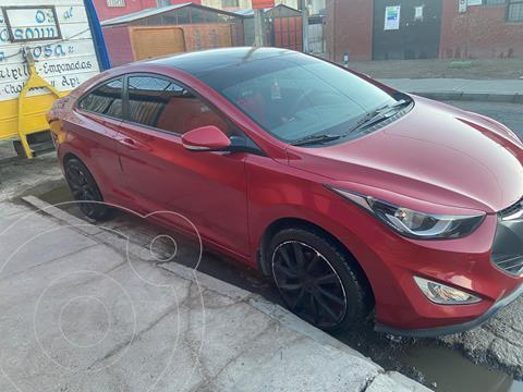 Hyundai Elantra Coupe 1.6 GL usado (2014) color Rojo precio $8.200.000