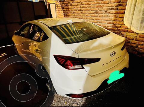 Hyundai Elantra 1.6L AD Plus Aut  usado (2019) color Blanco precio $13.000.000
