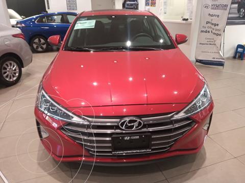 Hyundai Elantra Limited Tech Navi Aut usado (2020) color Rojo precio $369,000